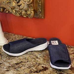 Bzees Shoes - Ladies Bzees Galaxy Slip On Sandals